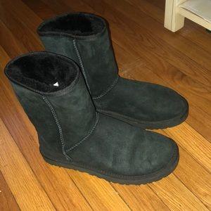 Black ankle ugh boots size 10